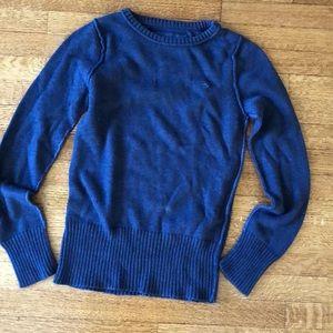 Basic navy blue sweater
